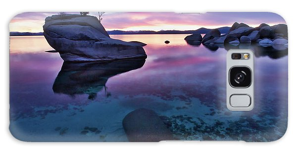 Transparent Sunset Galaxy Case