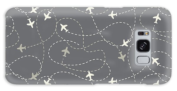Airport Galaxy Case - Travel Around The World Airplane Routes by Nnnnae