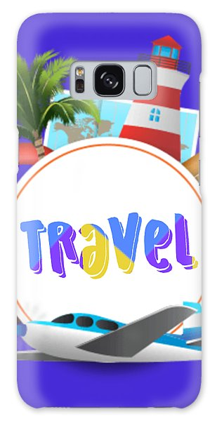 Galaxy Case - Travel World by Ize Barbosa DIAMOND IS FOREVER