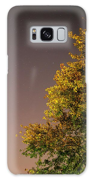 Tree And Stars Galaxy Case