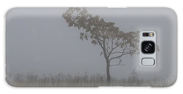 Tree In Fog Galaxy Case