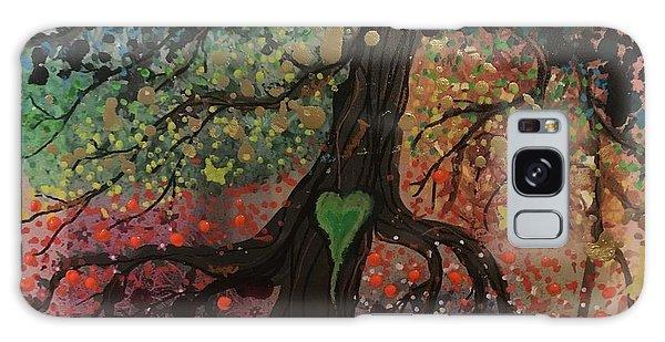 Tree Of Life Chakra Tree Galaxy Case