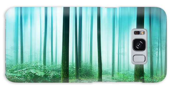 Scenery Galaxy Case - Tree Root Covered The Entire Floor by Htu