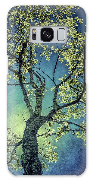 Galaxy Case featuring the photograph Tree Tops 0945 by Donald Brown