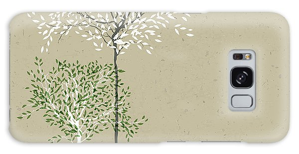 Recycle Galaxy Case - Trees Background. The Trunk And Leaves by Pashabo
