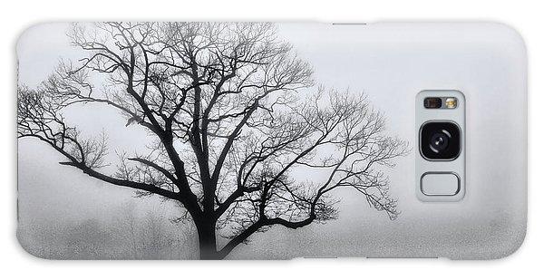 Trees In Fog # 2 Galaxy Case