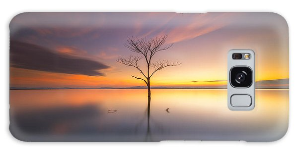 Scenery Galaxy Case - Trees Submerged In The Flooded The Time by Worawit j