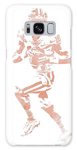 March Galaxy Case - Trevor Lawrence Clemson Tigers Pixel Art 1 by Joe Hamilton