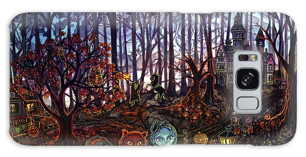 Trick Or Treat Sleepy Hollow Galaxy Case