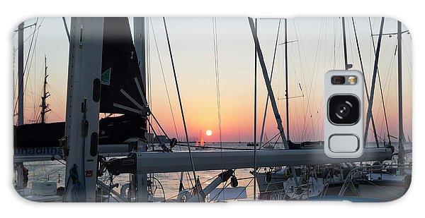 Trieste Sunset Galaxy Case