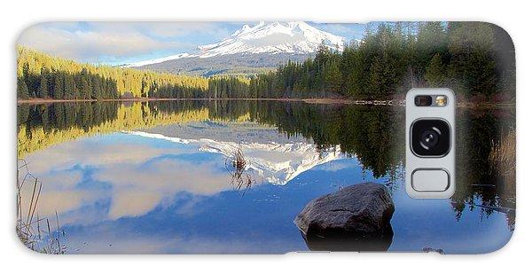 Trillium Lake November Morning Galaxy Case