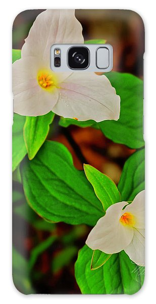 Trilliums Galaxy Case