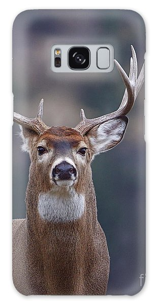 White-tailed Deer Galaxy Case - Trophy Whitetail Buck Deer, Isolated by Tom Reichner