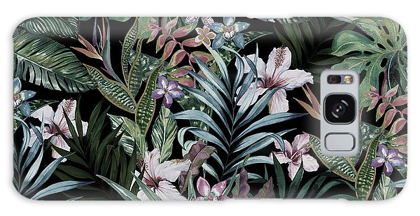 Realistic Galaxy Case - Tropical Floral Print. Variety Of by Rosapompelmo