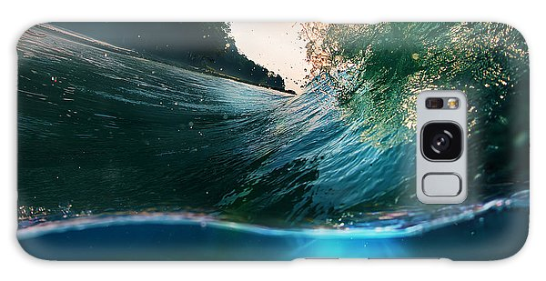 Swimming Galaxy Case - Tropical Paradise Template With by Willyam Bradberry