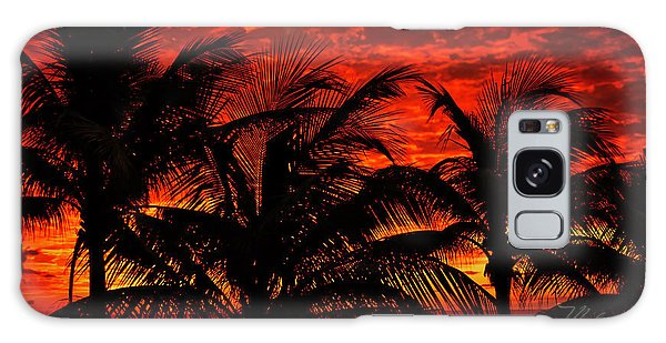 Tropical Sunrise Galaxy Case