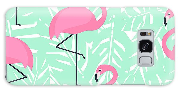 Wrap Galaxy Case - Tropical Trendy Seamless Pattern With by In dies magis
