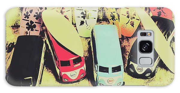 Old Car Galaxy Case - Tropical Trippers 1960 by Jorgo Photography - Wall Art Gallery
