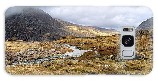 Galaxy Case - Tryfan And Pen Yr Ole Wen Mountain Snowdonia by Adrian Evans