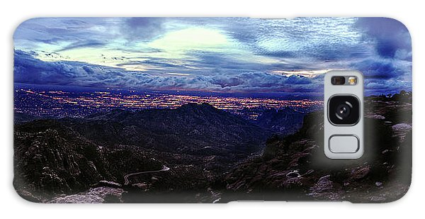 Tucson Twilight Panorama Galaxy Case