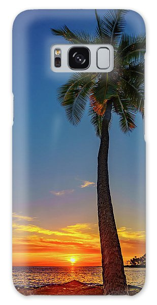 Tuesday 13th Sunset Galaxy Case