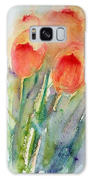 Tulip Dance Galaxy Case