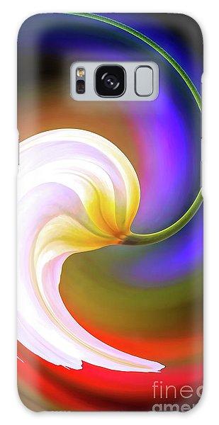 Tulip Twirl Galaxy Case