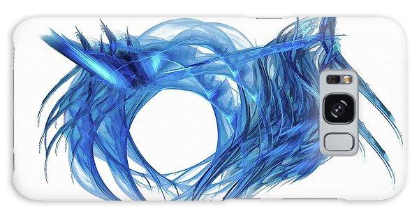 Tunnel Vision Dark Blue Galaxy Case