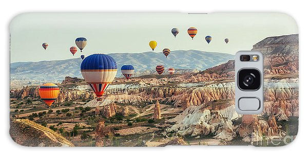 Geology Galaxy Case - Turkey Cappadocia Beautiful Balloons by Standret