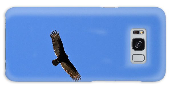 Turkey Vulture Soaring Galaxy Case