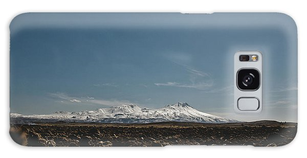 Turkish Landscapes With Snowy Mountains In The Background Galaxy Case