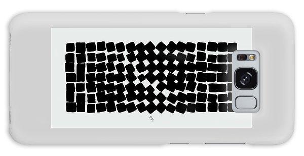 Galaxy Case featuring the digital art Turn by Attila Meszlenyi