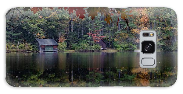 Turning Fall Color On Little Lake Galaxy Case