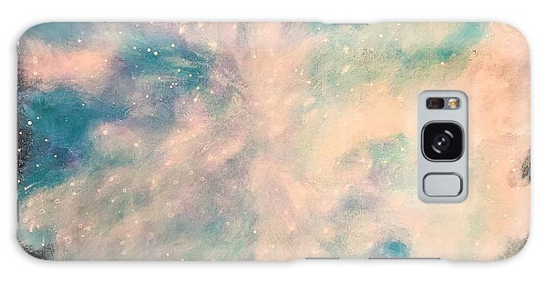 Turquoise Cosmic Cloud Galaxy Case