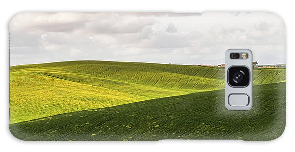 Tuscan Landscapes. Hills In The Spring Galaxy Case