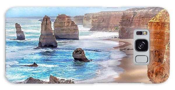 Australia Galaxy Case - Twelve Apostles And Orange Cliffs Along by Tero Hakala