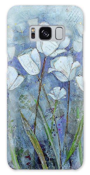 Healing Galaxy Case - Twilight Tulips by Shadia Derbyshire