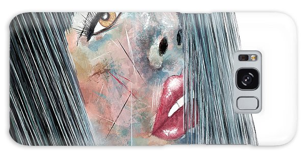 Twilight - Woman Abstract Art Galaxy Case