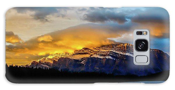 Two Jack Lake, Banff National Park, Alberta, Canada Galaxy Case