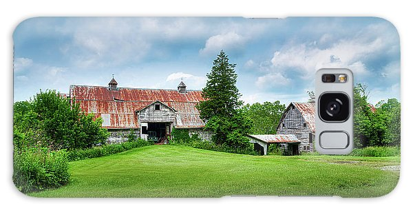 Shed Galaxy Case - Two Old Barns by Tom Mc Nemar