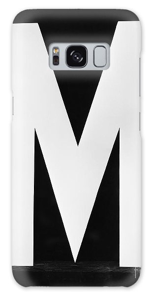 Two People Galaxy Case - Two Women Posing With Huge Letter M by Everett Collection