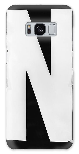 Two People Galaxy Case - Two Women With Huge Letter N by Everett Collection