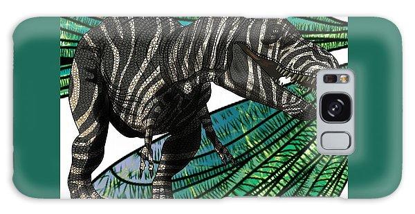 Tyrannosaurus Takes Wings Galaxy Case