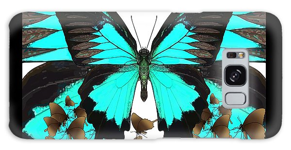 U Is For Ulysses Butterfly Galaxy Case