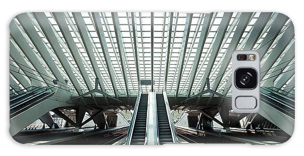 Time Frame Galaxy Case - Ultra Modern Train Station In Liege by Telesniuk