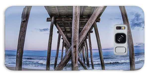 Galaxy Case featuring the photograph Under The Pier by Steve Stanger
