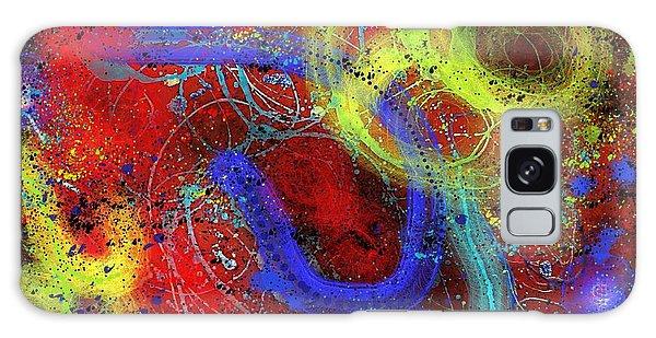 Galaxy Case - Under The Sea Digital Addition2 by Joan Stratton