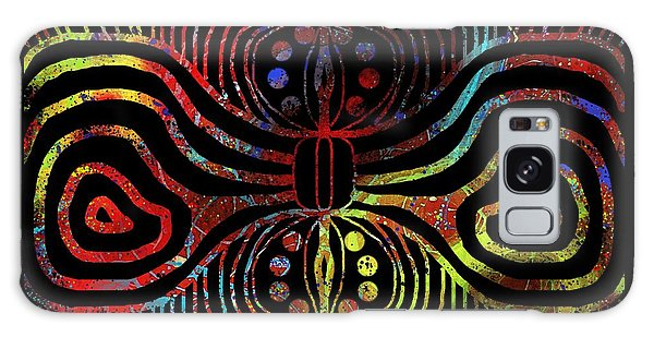 Under The Sea Digital Patterns Of Life Galaxy Case