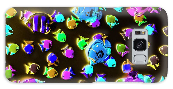 Neon Galaxy Case - Underwater Glow by Jorgo Photography - Wall Art Gallery