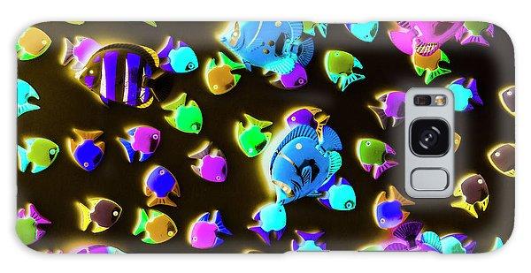 Ecosystem Galaxy Case - Underwater Glow by Jorgo Photography - Wall Art Gallery